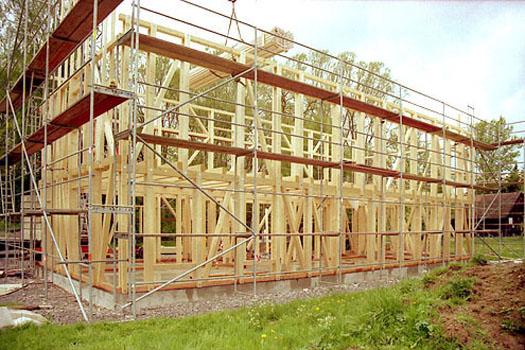Architekturb ro susanne obermeyer projekte haus schanz for Fachwerk aussteifung